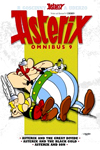 Asterix Omnibus 9: Asterix and The Great Divide, Asterix and The Black Gold, Asterix and Son