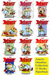 Asterix Omnibus Graphic Novels - A Set of 11 Books