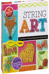 String Art: Turn string and pins into works of art (Klutz) Toy