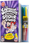 The Captain Underpants Super-Silly Sticker Studio (Klutz) Spiral-bound –   Illustrated