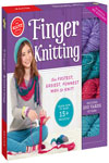 Finger Knitting: The fastest, easiest, funnest way to knit! (Klutz) Paperback