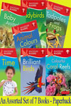 Kingfisher Readers Series Level - 1: An Assorted Set of 7 Books