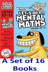Let's Do Mental Math Books Series - A Set of 16 Books