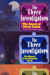 Three Investigators Series - An Assorted Set of 4 Books