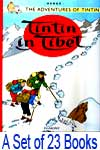Tintin Comics Paperback - A Set of  23 Books