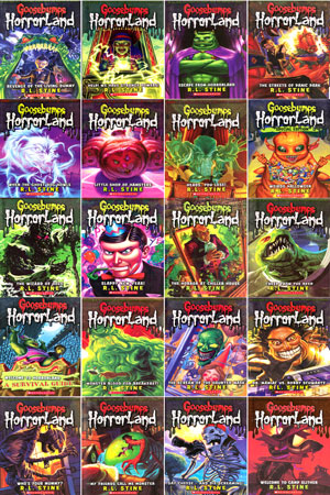 "Bright light books ""goosebumps horrorland #16: weirdo halloween."