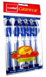 Cello Gripper  Ball Point Pens (250 Pens)