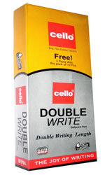 Cello Double Write Pens (100+20 Pens)