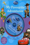 Disney: My Favourite Adventures 5 Books & CD Slipcase Adventure