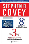 The 7th Habits of Highly Effective People / The 8th Habit / The 3rd Alternative A Set of 3 Books